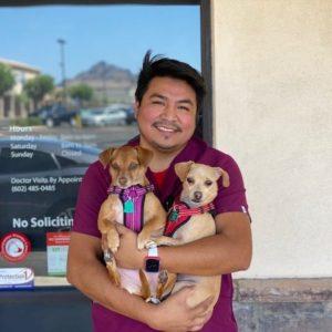 Chance, Veterinary Technician
